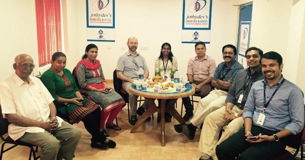 The Learna team meet JothyDev team